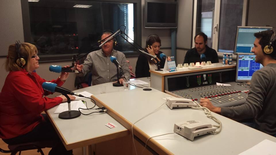 """Programa de radio """"Colegiados"""" sobre podología"""